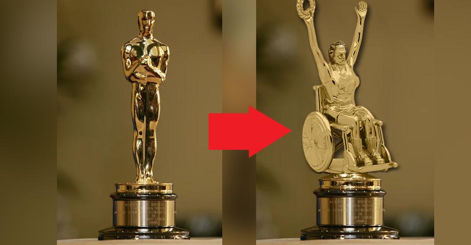 SHOCKING New Oscar Statue Celebrates Diversity